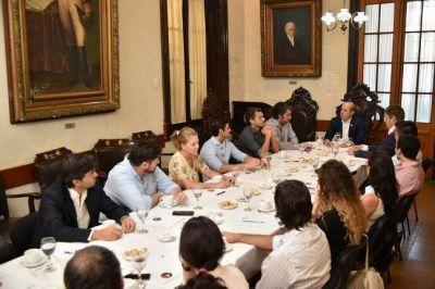 Jóvenes empresarios fueron recibidos por el Vicegobernador