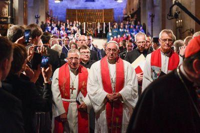 """El Papa ante la Reforma protestante: """"Nosotros miramos más lo que nos une que lo que nos divide"""""""