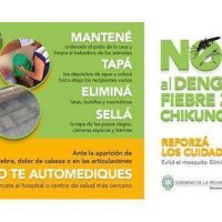 Solicitan extremar medidas de prevención frente al zika, dengue y chicungunya