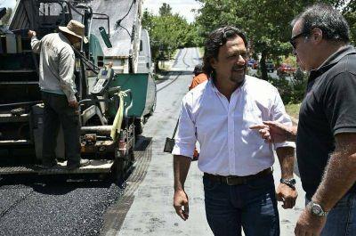 El municipio continúa trabajando en el arreglo de calles