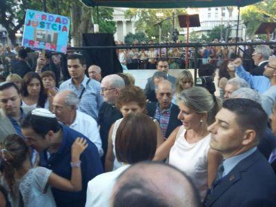 Nisman/Aniversario. Se realizó el acto en homenaje al segundo aniversario de la muerte del fiscal