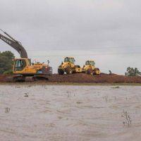 El Estado provincial reforzará los terraplenes de contención en Gualeguay