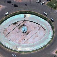 San Isidro: Obras de mantenimiento en la rotonda de Av. Márquez