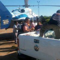 El Gobierno asistió a familias afectadas por las lluvias