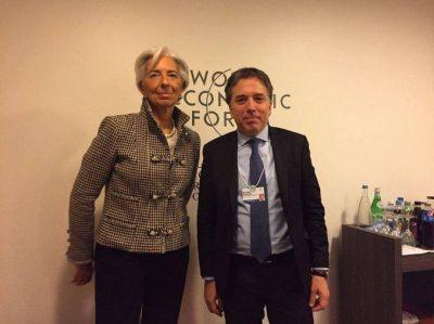 Dujovne tras la reunión con Lagarde: