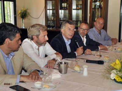Molina con Macri