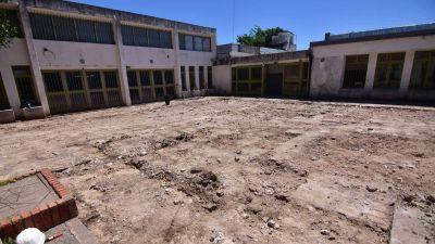 Avanzan las obras en 14 escuelas de la ciudad de cara al inicio del ciclo lectivo