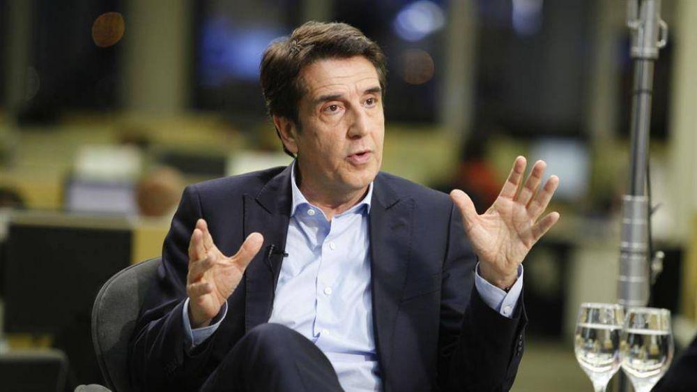 El llanto de Carlos Melconian en su último día en el Banco Nación: