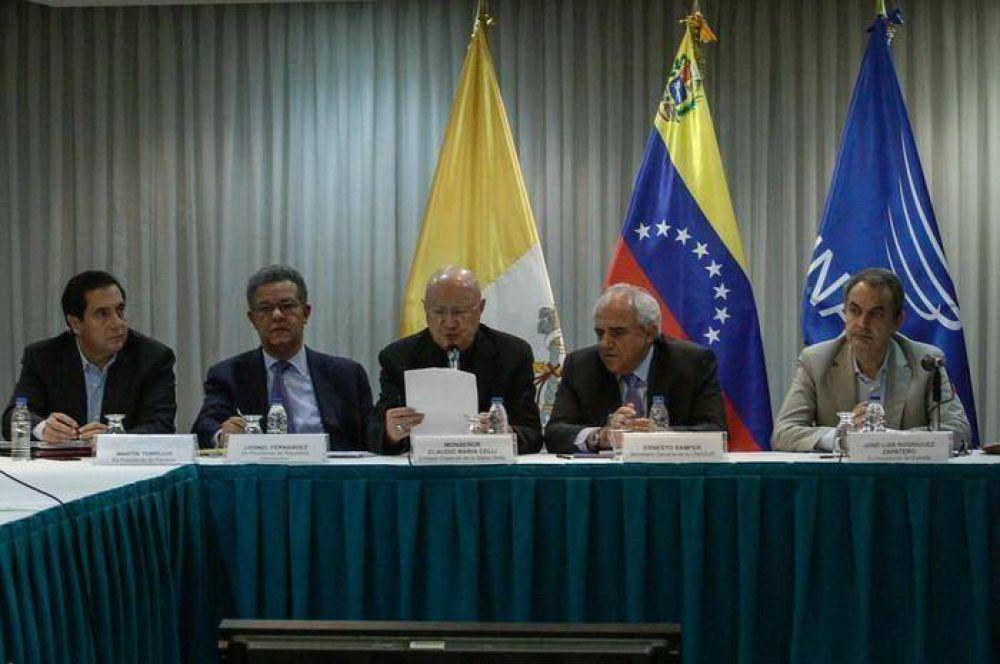 Vaticano abandona (por ahora) diálogo en Venezuela