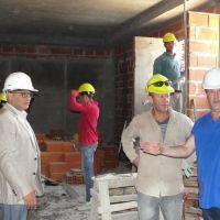 Avanza la obra de ampliación del hospital municipal de Balcarce