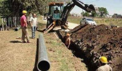 Avanza a buen ritmo la instalación de los nuevos pozos de agua potable