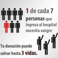 Aseguran que faltan donantes de sangre en todo el país