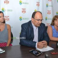 Presentaron a Sofía De Santibáñes en Microemprendimientos y Marisa Delia en Desarrollo Humano