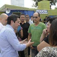Leonardo Nardini inauguró nueva posta de seguridad en Tortuguitas