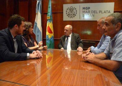Arroyo analizó con la ministra de Salud los avances en el Interzonal
