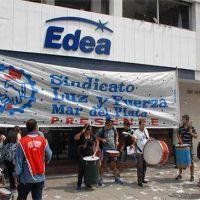 Paro, caravana y movilización contra EDEA