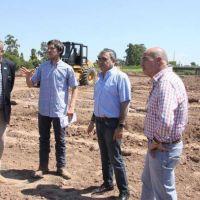Comenzaron los trabajos de urbanización en la Costanera