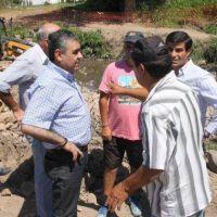Entuban el canal Lavaisse-Nervo para prevenir nuevas inundaciones