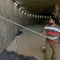 Ultiman los detalles para la inauguración del túnel de la calle Mendoza