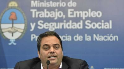 Jorge Triaca aseguró que la Argentina está