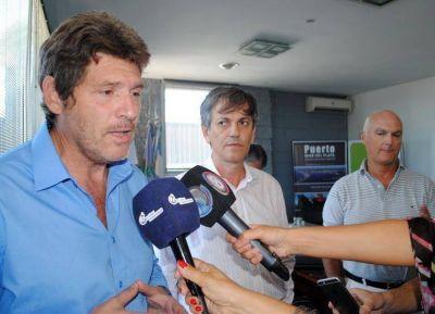 """Martín Merlini """"El puerto de Mar del Plata es autosustentable en el tiempo"""""""