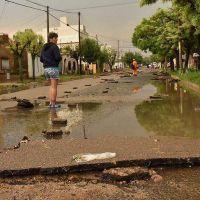 La lluvia trajo algo de alivio y problemas: 87,6 milímetros