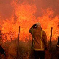 Incendios rurales: ya se quemó el 10% del territorio pampeano