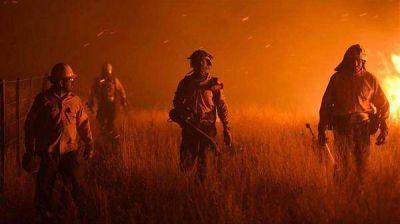 Ya se quemó el 10% de La Pampa y todavía hay cuatro focos activos