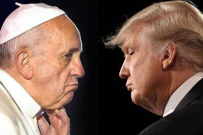 El Papa Francisco sorprende, envía mensaje a Donald Trump