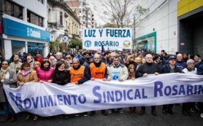 El Movimiento Sindical Rosarino llama a resistir