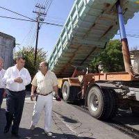 Repavimentación de calles del macrocentro