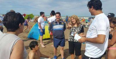 Diputados concientizaron sobre ACV en la Costa Atlántica