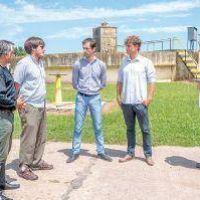 Planta depuradora: con fondos por casi $ 5 millones comenzaron los trabajos