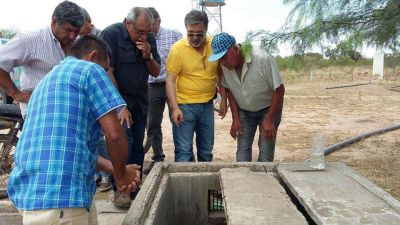 Ipalar busca mejorar el sistema de distribución de agua en departamento General Belgrano