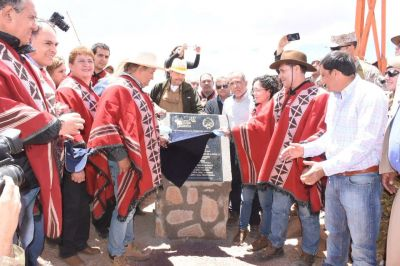 Homenaje a los héroes riojanos que participaron de la expedición Zelada Dávila hace 200 años