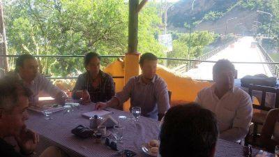 Se reunieron, cinco municipios y el Secretario de Turismo de la Provincia