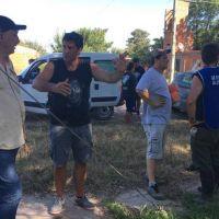 El diputado Marecelo Torres brindó colaboración para los inundados en La Emilia en San Nicolás