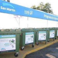 En 2016, el Municipio recolectó 165 toneladas de material reciclable