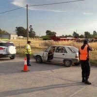 Operativos de control de tránsito en Gonzales Chaves