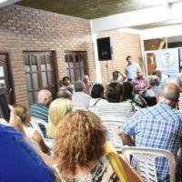 En Valle Viejo realizaron una audiencia por obra de cloacas
