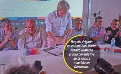 Colombi analizó con sus ministros la agenda de Frigerio en Corrientes