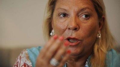 Elisa Carrió vuelve a la carga contra Arribas: se presentará hoy a ratificar su denuncia