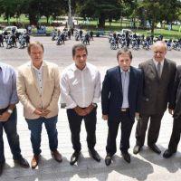 Ritondo: motos y lanchas para el Conurbano bonaerense