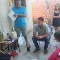 La Plata: Atanasof, junto a vecinos del Barrio Santa Ana por la extensión de la red cloacal