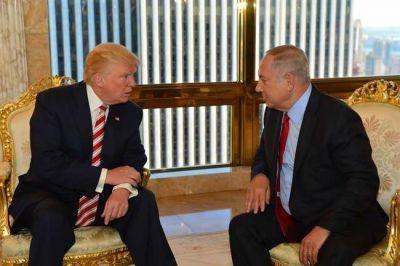 Trump y Netanyahu conversaron sobre las ''amenazas que plantea Irán''
