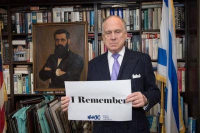 """CJL. La campaña """"WeRemember"""" del Congreso Judío Mundial llegó a miles de personas a través de las redes sociales para conmemorar el Holocausto"""