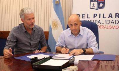 Pilar pidió a la UBA un proyecto para fomentar el desarrollo sostenible del distrito