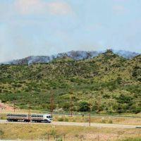 San Luis Solidario trabaja para combatir un reinicio del fuego