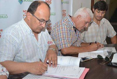 El Municipio firmó un convenio con la Cooperativa Eléctrica