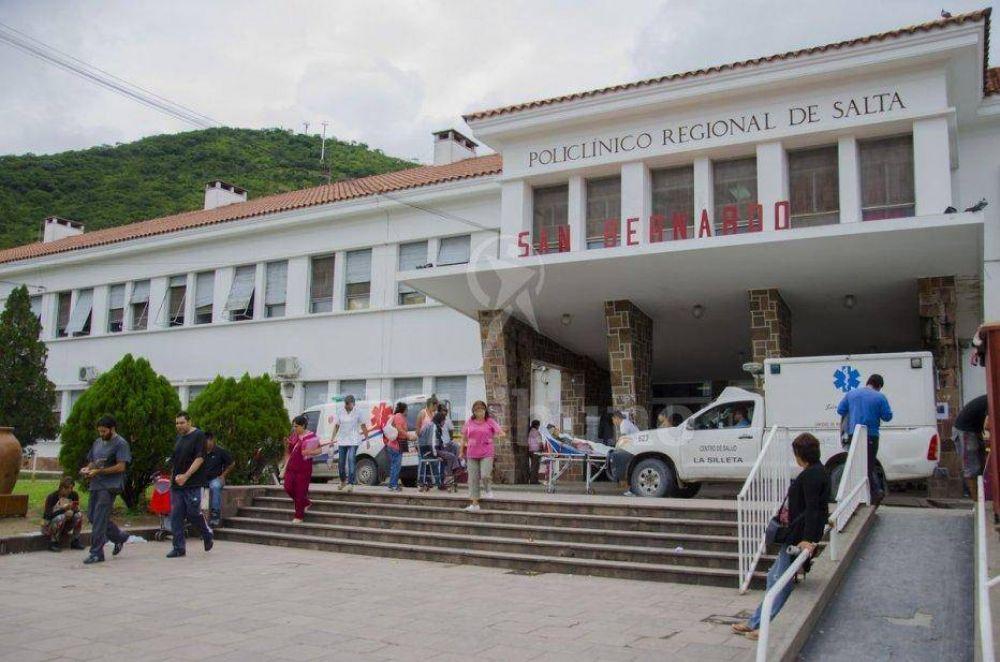 Registran primer caso de meningitis del 2017 en el hospital San Bernardo